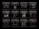 Communication and Business Icons - Vector Icon Set
