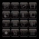 Business, Office and Mobile phone icons - Vector Icon Set