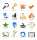 Simple Internet and Web Site Icons - Vector Icon Set