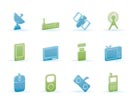 technology and Communications icons - vector icon set
