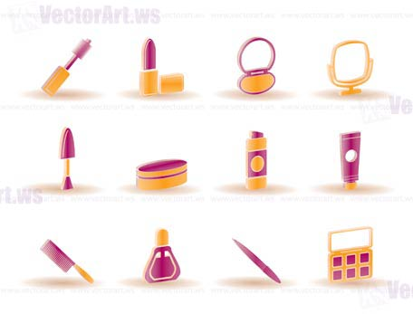 Makeup Icon Vector Vector Icons