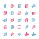 25 Detailed Internet Icons - Vector Icon Set