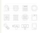 Security and Business icons - vector icon set