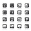 Business and office  Icons  vector icon set