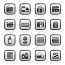 different kind of package icons - vector icon set