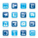 Communication and Technology icons - Vector Icon Set