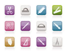 school and office tools icons- vector icon se