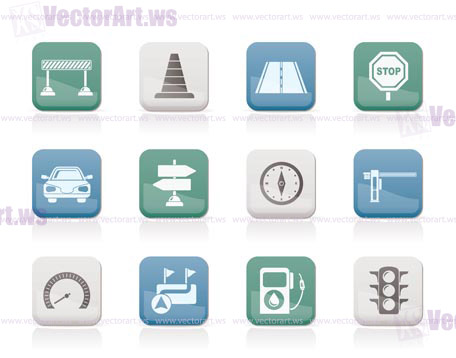 Traffic Icon Vector Icons Vector Icon Set