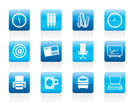 Business and Office tools icons  vector icon set