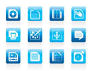 Mobile Phone, Computer and Internet Icons - Vector Icon Set 3