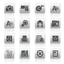 Internet and Website icons  Vector Icon Set