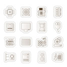 Computer  Performance and Equipment Icons - Vector Icon Se