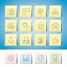 Internet and Website Icons - Vector Icon Set