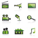 cinema icon - vector icon set