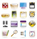 phone  performance, internet and office icon set 2