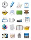Office tools vector icon set 2