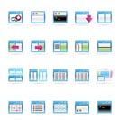 Application, Programming, Server and computer icons vector Icon Set 2