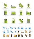 technology and Communications icons - vector icon set - 3 colors included