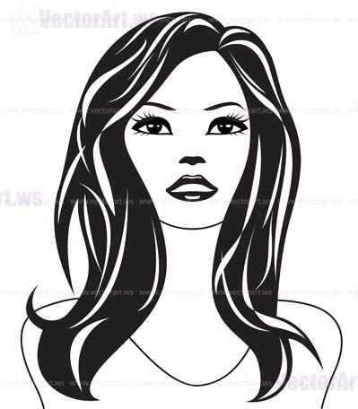 Understand this woman vector art think