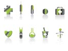 Medical and healt care Icons - vector icon set