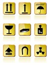 shipping Box Icon and Signs icons - vector icon set